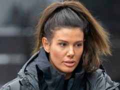 Rebekah Vardy has won the first round of her libel battle against Coleen Rooney (Joe Giddens/PA)