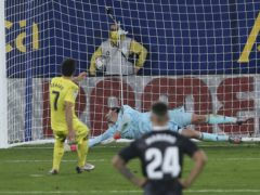 Gerard Moreno's late penalty helped Villarreal maintain their unbeaten home record (Alberto Saiz/AP)