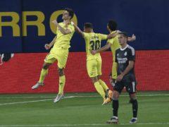 A late penalty from Gerard Moreno (left) helped Villarreal maintain their unbeaten home record (Alberto Saiz/AP)