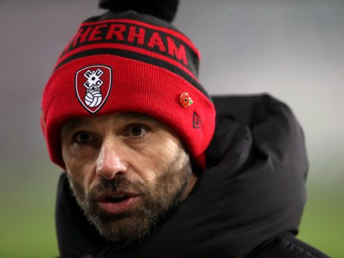 Paul Warne wants more of the same from his Rotherham players (Nick Potts/PA)