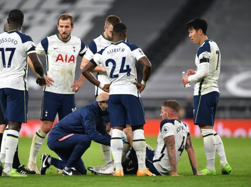 Toby Alderweireld is out for two to four weeks (Neil Hall/PA)