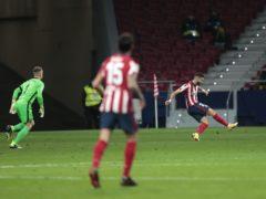 Yannick Carrasco punished a poor decision by Barcelona goalkeeper Marc-Andre Ter Stegen (Bernat Armangue/AP)