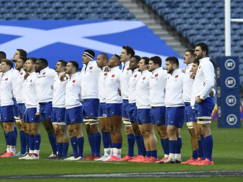 France must field a weakened team against England (Ian Rutherford/PA)