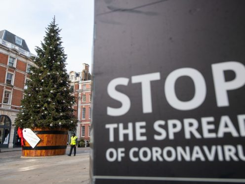 While people have been warned that Covid-19 will not disappear at Christmas, there are steps people can take to reduce their risk (Dominic Lipinski/PA)