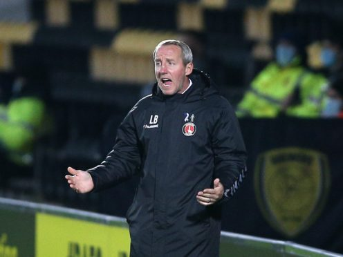 Lee Bowyer was not impressed after Charlton conceded four (Nigel French/PA)