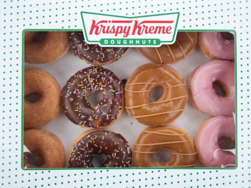 Cambridgeshire Police officer Simon Read has been dismissed without notice for gross misconduct after he scanned a seven pence carrot barcode to get a £9.95 tray of Krispy Kreme donuts. (Joe Giddens/PA)