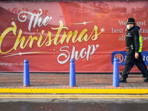 A union has urged retailers to close stores on Boxing Day (Ben Birchall/PA)