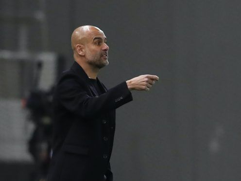 Pep Guardiola's side won in Greece on Wednesday night (Thanassis Stavrakis/AP)