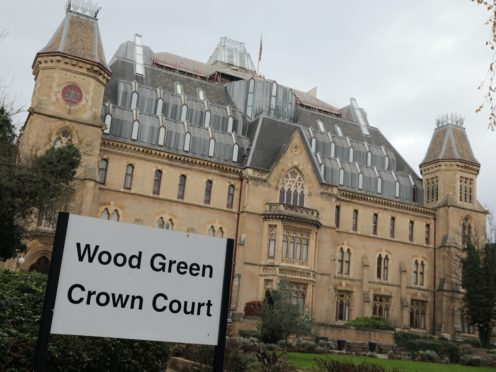 Farrell appeared at Wood Green Crown Court (Aaron Chown/PA)
