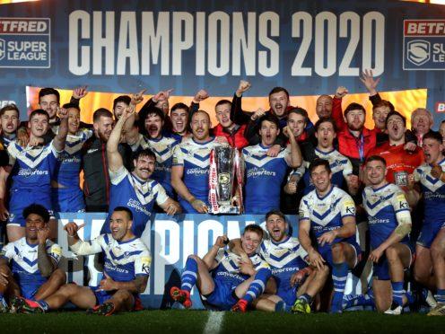 St Helens beat Wigan in the Super League Grand Final (Martin Rickett/PA)