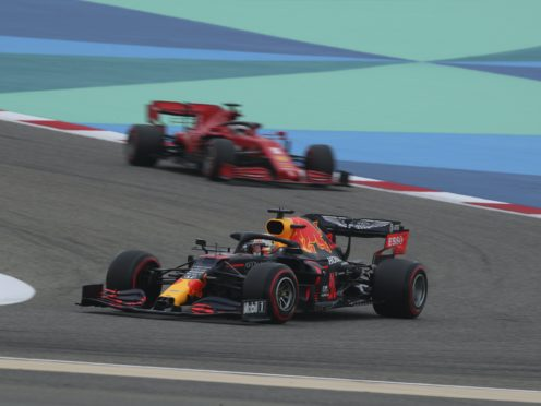 Max Verstappen led the way in final practice (Tolga Bozoglu/AP)