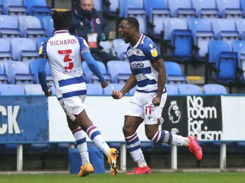 Yakou Meite (right) celebrates his goal (Bradley Collyer/PA)