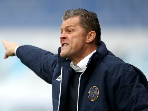 Steve Cotterill's is up and running at Shrewsbury (Nick Potts/PA)
