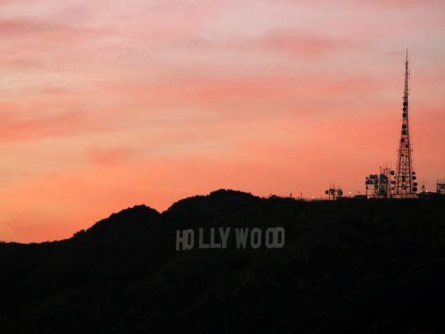 General view of the Hollywood sign (Ian West/PA)
