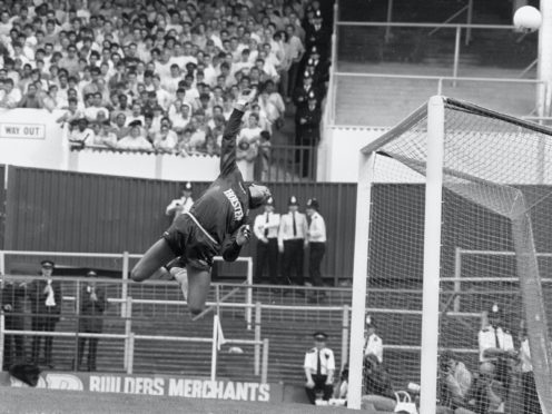 Ray Clemence finished his playing career at Tottenham (PA)