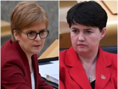 Nicola Sturgeon (left) and Ruth Davidson (PA)