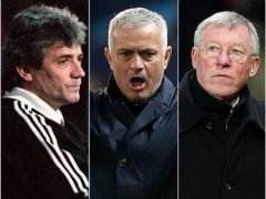 Kevin Keegan, Jose Mourinho and Sir Alex Ferguson, l-r, all gave memorable rants (David Kendall/Martin Rickett/PA)