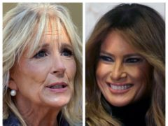 Jill Biden and Melania Trump (PA)