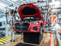 Audi has pledged to make all of its production sites carbon neutral by 2025