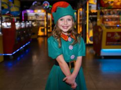 Lyra Cole, seven, is releasing a cover of Shakin' Stevens' Merry Christmas Everyone (Brain Tumour Research)