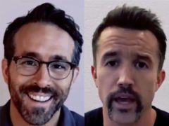 Ryan Reynolds and Rob McElhenney are set to become Wrexham's new co-owners (Wrexham AFC/Twitter)