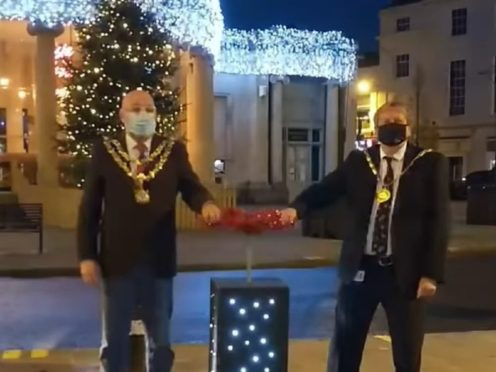 Bridgwater Christmas lights switch-on (Bridgwater Town Council)