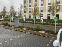 EV owners will be able to book one of 250 charge points across the country