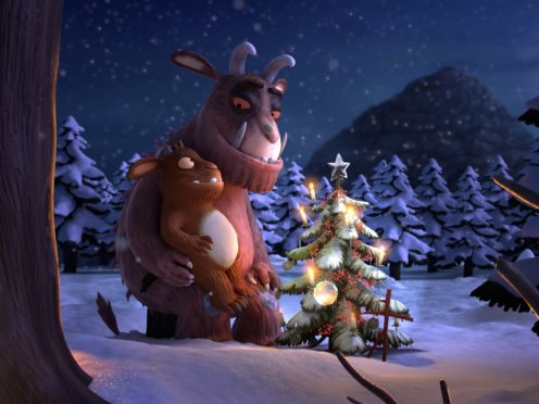 The Gruffalo and his daughter (Magic Light Pictures/BBC/PA)