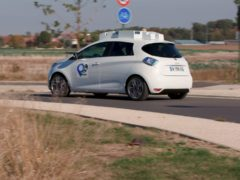 The test aimed to see how autonomous cars dealt with urban environments