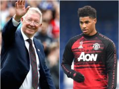 Sir Alex Ferguson has been impressed with Marcus Rashford's charity work (Martin Rickett/Paul Ellis/PA)