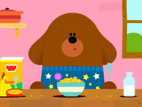 A special episode of Hey Duggee will launch on Facebook on Thursday to celebrate parental resilience in lockdown (BBC/PA)