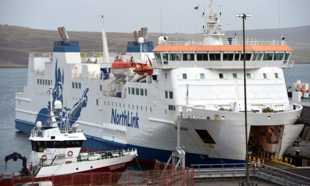 Passengers face 213-mile detour as NorthLink ferry suffers fouled prop on approach to Aberdeen