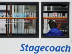 Transport giant Stagecoach has revealed half-year profits crashed 92% to £5.4 million as slumping demand for public transport hammered revenues (PA)