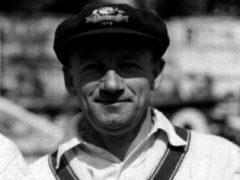 Sir Donald Bradman during the 1948 tour of England (PA)