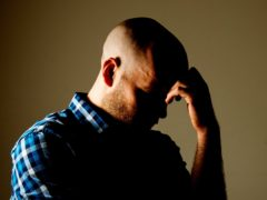 New figures show more men are having suicidal thoughts when worried or low but are more willing to seek help (Dominic Lipinski/PA)