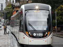 Extra funding has been announced for Edinburgh Trams (Danny Lawson/PA)