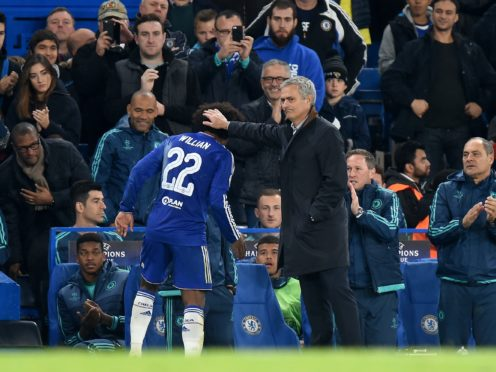 Jose Mourinho worked with Willian at Chelsea (Andrew Matthews/PA)