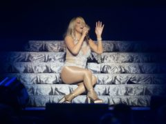 Mariah Carey performing on stage in Glasgow in 2016 (Danny Lawson/PA)