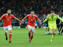 Wales, who enjoyed a memorable win over Belgium at Euro 2016, will face them again in World Cup qualifying (Joe Giddens/PA)