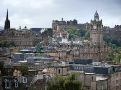 Concerns have been raised about the growth of Airbnb-style properties in Edinburgh (Jane Barlow/PA)