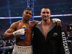 Anthony Joshua has used what he learnt from Wladimir Klitschko in his training camp for the Kubrat Pulev fight (Nick Potts/PA)
