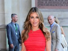 Liz Hurley will be a guest judge (Ian West/PA)
