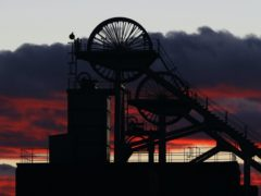 A colliery wheel (Owen Humphreys/PA)