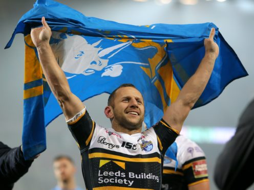 Rob Burrow has been awarded an MBE (Richard Sellers/PA)