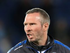 Michael Appleton's Lincoln struck back for a Wigan win (Mike Egerton/PA)