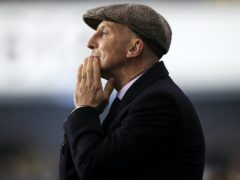 Ian Holloway praised the fight from his players (Mike Egerton/PA)