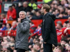 Liverpool manager Jurgen Klopp (right) believes Jose Mourinho's will to win is what sets him apart (Martin Rickett/PA)