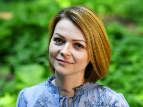 Yulia Skripal, the daughter of former Russian spy Sergei Skripal, has reportedly said her father has a live-in nurse (Dylan Martinez/PA)