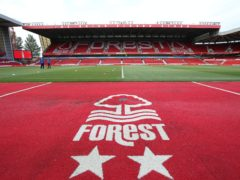 Nottingham Forest have been fined by the Football Association (Nigel French/PA)