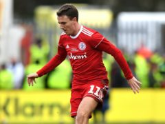 Sean McConville could not help Accrington to victory (Anthony Devlin/PA)
